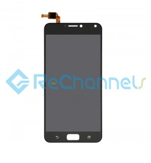 For Asus Zenfone 4 Max(ZC554KL) LCD Screen and Digitizer Assembly Replacement - Black - Grade S