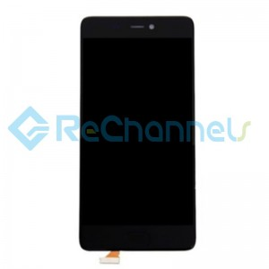 For Xiaomi Mi 5S LCD Screen and Digitizer Assembly with Front Housing Replacement - Black - Grade S+