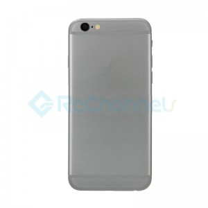 For Apple iPhone 6 Rear Housing Assembly Replacement - Gray - Grade S