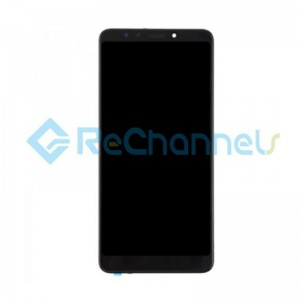 For Xiaomi Redmi 5 LCD Screen and Digitizer Assembly with Front Housing Replacement - Black - Grade S