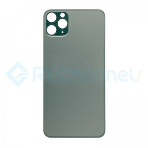 For Apple iPhone 11 Pro  Back Cover Replacement - Midnight Green- Grade S