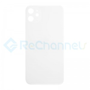 For Apple iPhone 11 Battery Door  Replacement - White - Grade S