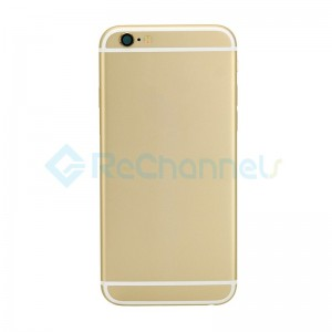 For Apple iPhone 6 Rear Housing Assembly Replacement  - Gold - Grade S