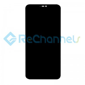 For Xiaomi Mi A2 lite(Redmi 6 pro) LCD Screen and Digitizer Assembly with Front Housing Replacement - Black - Grade S+