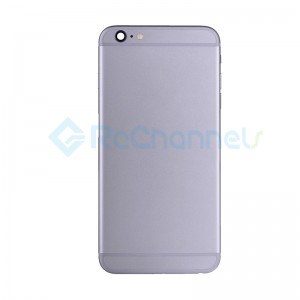 For Apple iPhone 6 Plus Rear Housing Assembly Replacement - Gray - Grade S