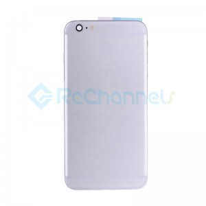 For Apple iPhone 6 Plus Rear Housing Assembly Replacement - Silver - Grade S