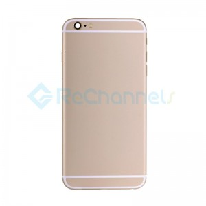 For Apple iPhone 6 Plus Rear Housing Assembly Replacement - Gold - Grade S