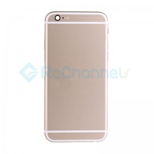 For Apple iPhone 6S Rear Housing Assembly Replacement- Gold - Grade S