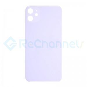 For Apple iPhone 11 Battery Door  Replacement - Purple - Grade S