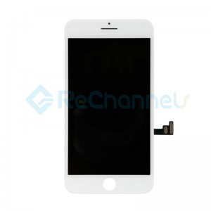 For Apple iPhone 7 Plus LCD Screen and Digitizer Assembly Replacement - White - Grade R