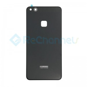 For Huawei P10 Lite Battery Door Replacement - Black - Grade S+