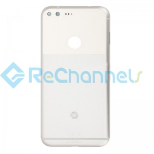 For Google Pixel XL Battery Door Replacement - White - Grade S+