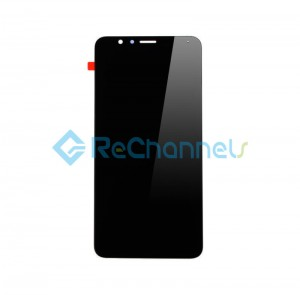 For Huawei Honor 7X LCD Screen and Digitizer Assembly Replacement - Black - Grade S