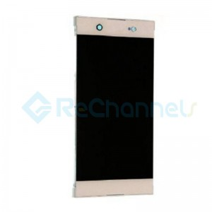 For Sony Xperia XA1 Ultra LCD Screen and Digitizer Assembly Replacement - Gold - Grade S+ (Model GC3223)