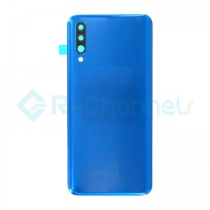 For Samsung Galaxy A50 SM-A505 Battery Door Replacement - Blue - Grade S+