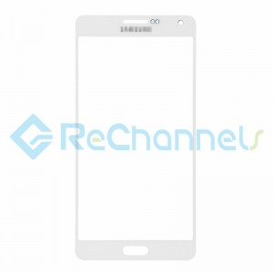 For Samsung Galaxy A7 SM-A700 Glass Lens Replacement - White - Grade S+