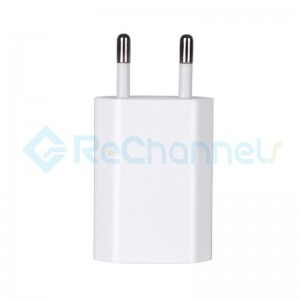 USB Power Adapter for iPhone & iPad - White - EU Version