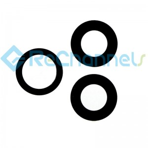 For iPhone 12 Pro/12 Pro Max Rear Camera Glass Lens Replacement -Grade S+ (3 pcs/set)