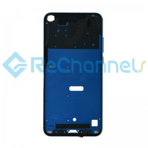 For Huawei Honor View 20 Front Housing Replacement - Blue - Grade S+
