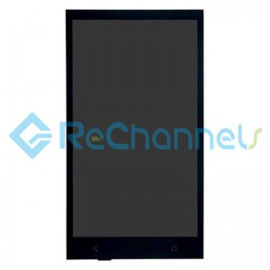 For HTC Desire 601 LCD Screen and Digitizer Assembly Replacement - Black - Grade S