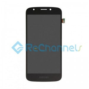 For Motorola Moto E2 LCD Screen and Digitizer Assembly Replacement - Black - Grade S