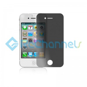 For Apple iPhone4 / 4S Tempered Glass Screen Protector (Privacy Series)