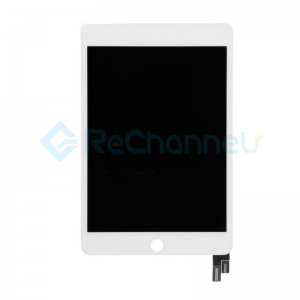 For Apple iPad Mini 4 LCD Screen and Digitizer Assembly Replacement - White - Grade R