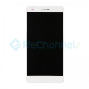 For Huawei Honor 7 LCD Screen and Digitizer Assembly with Front Housing Replacement - White - Grade S+