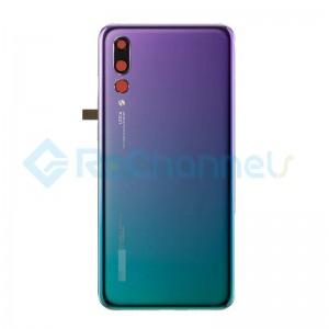 For Huawei P20 Pro Battery Door Replacement - Twilight - Grade S+