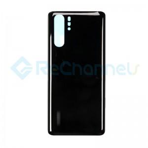 For Huawei P30 Pro Battery Door Replacement - Black - Grade S+
