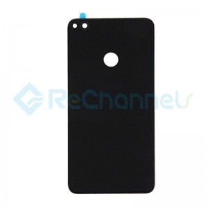 For Huawei P8 Lite Battery Door Replacement - Black - Grade S+