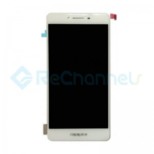 For OPPO R7 LCD Screen and Digitizer Assembly Replacement - White - Grade S+
