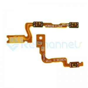 For OPPO R9s Plus Power/Volume Flex Cable Replacement - Grade S+