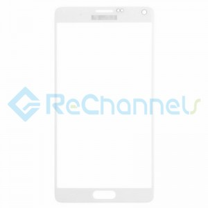 For Samsung Galaxy Note 4 Series Glass Lens Replacement - White - Grade S+