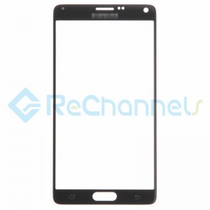 For Samsung Galaxy Note 4 Series Glass Lens Replacement - Black - Grade S+