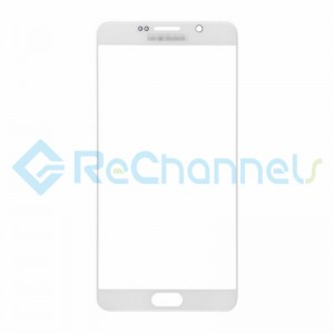 For Samsung Galaxy Note 5 Series Glass Lens Replacement - White - Grade S+