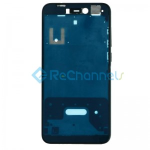 For Huawei Honor 8 Lite Front Housing Replacement - Black - Grade S+
