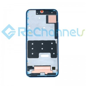 For Huawei Honor 20 Lite Front Housing Replacement - Blue - Grade S+