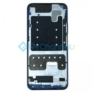 For Huawei Honor 9X Front Housing Replacement - Blue - Grade S+