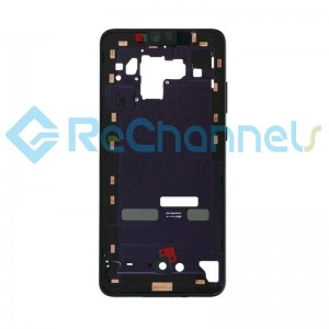 For Huawei Mate 30 Front Housing Replacement - Purple - Grade S+
