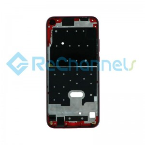 For Huawei P20 Lite 2019 Front Housing Replacement - Red - Grade S+