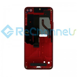 For Huawei Honor View 30 Front Housing Replacement - Red - Grade S+