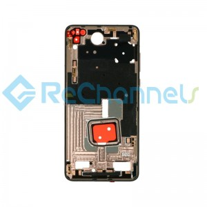 For Huawei P40 Front Housing Replacement - Gold - Grade S+