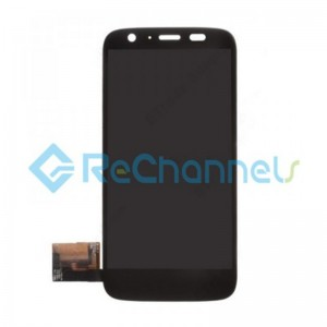 For Motorola Moto G LCD Screen and Digitizer Assembly Replacement - Black - Grade S