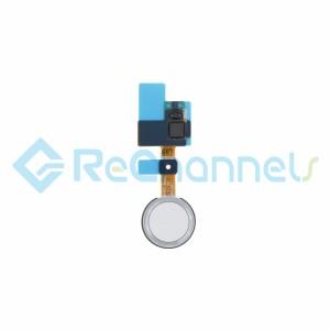 For LG G5 Fingerprint Sensor Flex Cable Ribbon Replacement - Silver - Grade S+