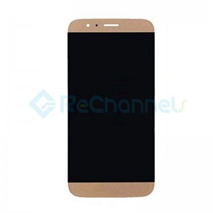 For Huawei D199/G8 LCD Screen and Digitizer Assembly with Front Housing Replacement - Gold - Grade S