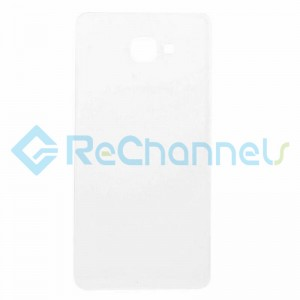 For Samsung Galaxy A9  (2016) Battery Door Replacement - White  - Grade S+