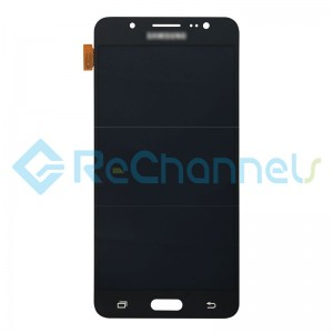For Samsung Galaxy J5 (2016) SM-J510 LCD Screen and Digitizer Assembly Replacement - Black -Grade S+