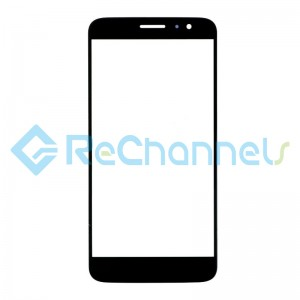 For Huawei Nova plus Glass Lens Replacement - Black - Grade S+