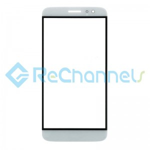 For Huawei Nova plus Glass Lens Replacement - White - Grade S+